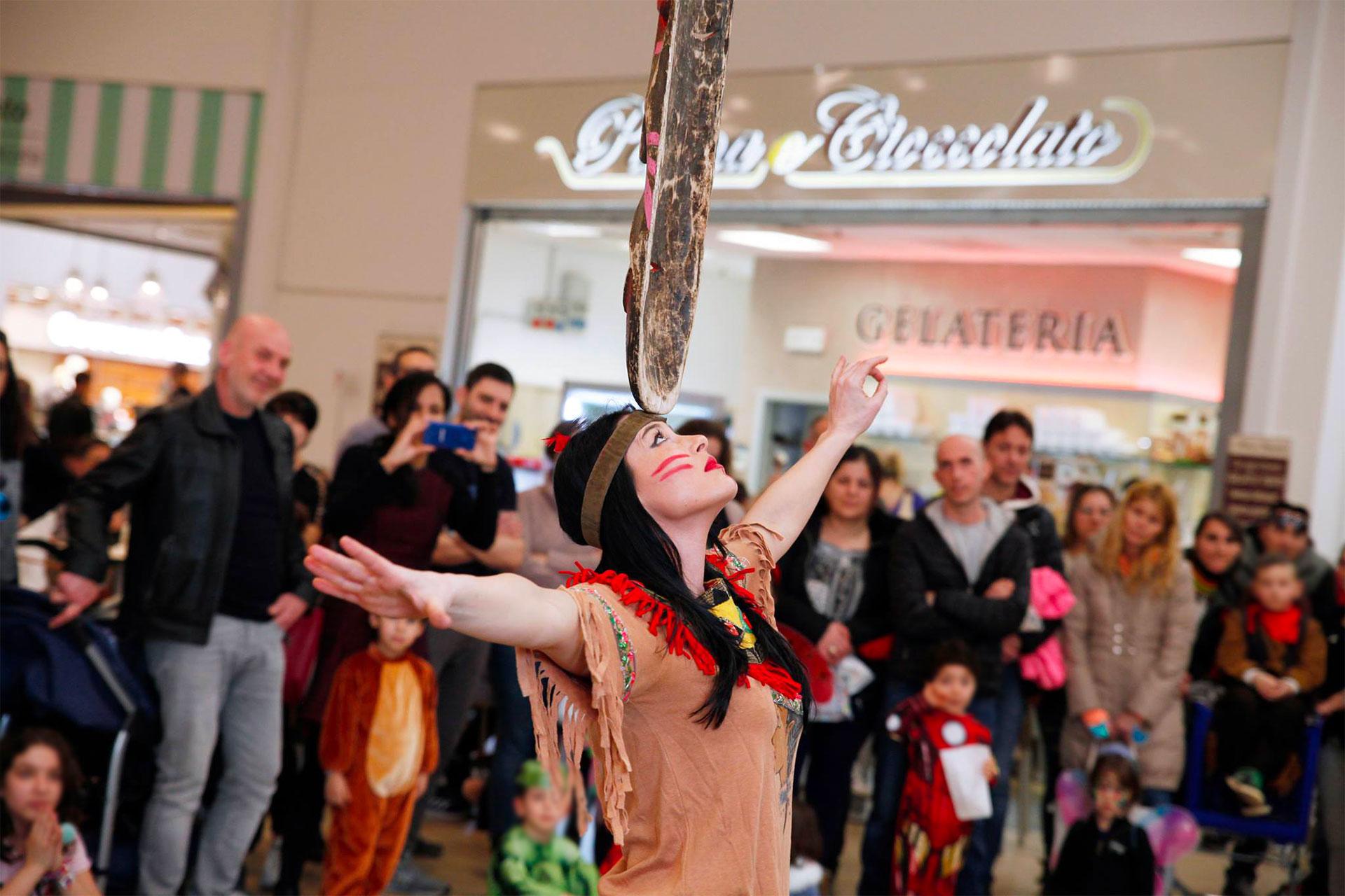 Carnevale a tema nel Centro Commerciale Grotte Center ...
